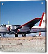 Firefighting Airtanker N4235n Acrylic Print