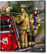 Firefighting - Only You Can Prevent Fires Acrylic Print