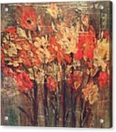Fireflowers Acrylic Print