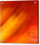 Firelight O Acrylic Print