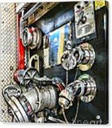 Fireman - Control Panel Acrylic Print