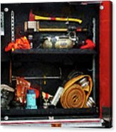 Fireman - Fire Fighting Supplies Acrylic Print