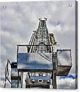 Fireman - Fire Ladder Acrylic Print