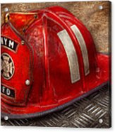 Fireman - Hat - A Childhood Dream Acrylic Print