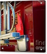 Fireman Hook And Ladder Acrylic Print