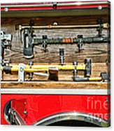 Fireman - Life Saving Tools Acrylic Print