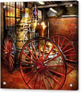 Fireman - One Day A Long Time Ago  Acrylic Print