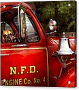 Fireman - This Is My Truck Acrylic Print
