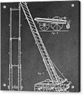Fireman's Hydraulic Lift Acrylic Print