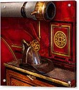 Firemen - An Elegant Job  Acrylic Print
