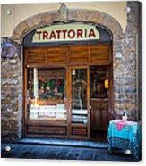Firenze Trattoria Acrylic Print