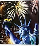 Fires Of Liberty Acrylic Print