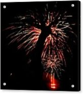 Firetree Acrylic Print