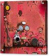 Firetruck Red Acrylic Print