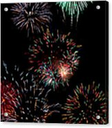Colorful Explosions No2 Acrylic Print