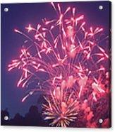 Fireworks 2014 X Acrylic Print