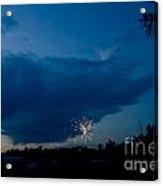 Fireworks 4 Acrylic Print