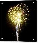 Fireworks 9 Acrylic Print by Mark Malitz