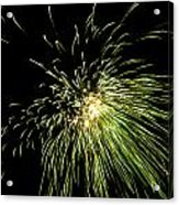 Fireworks Acrylic Print by Akash Routh