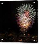 Fireworks Albenga 2013 3808 - Ph Enrico Pelos Acrylic Print