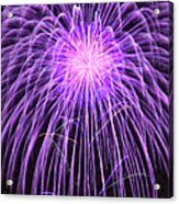 Fireworks At Night 2 Acrylic Print