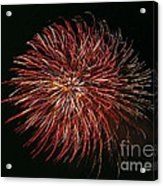Fireworks At Night 5 Acrylic Print