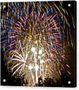 Fireworks Bursts Colors And Shapes 1 Acrylic Print