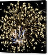 Fireworks Bursts Colors And Shapes 4 Acrylic Print