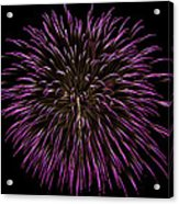 Fireworks Bursts Colors And Shapes 5 Acrylic Print
