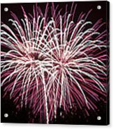 Fireworks Bursts Colors And Shapes 7 Acrylic Print