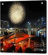 Fireworks By The Bay Acrylic Print
