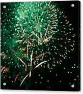 10223 Alstervergnuegen Fireworks 2013 Acrylic Print