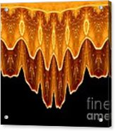 Fireworks Melting Abstract Acrylic Print