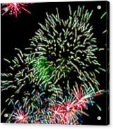Fireworks Over The Bay Acrylic Print