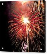 Fireworks Over Washington Dc Acrylic Print