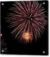 Fireworks Panorama Acrylic Print