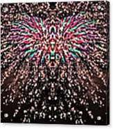 Fireworks Phoenix Acrylic Print