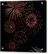 Fireworks - Phone Case Design Acrylic Print by Gregory Scott