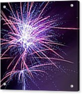Fireworks - Purple Haze Acrylic Print
