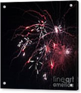 Fireworks Series Xi Acrylic Print by Suzanne Gaff
