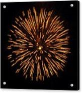 Fireworks Shell Burst Acrylic Print by Jay Droggitis
