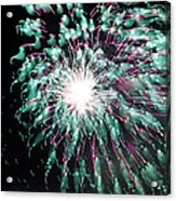 Fireworks Splendor Acrylic Print