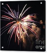 Fireworks Twenty Eleven II Acrylic Print
