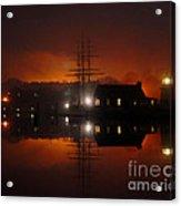 Firey Fog Acrylic Print