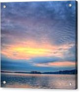 Firey Sunrise Acrylic Print