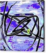 Firmament Cracked #4 - Entrapment Acrylic Print by Mathilde Vhargon