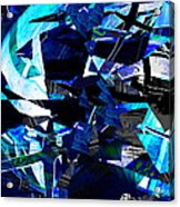 Firmament Cracked #9 - All Which Once Was Beautiful Acrylic Print