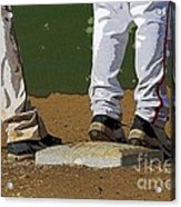First Base Acrylic Print
