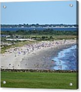 First Beach Newport Ri Acrylic Print