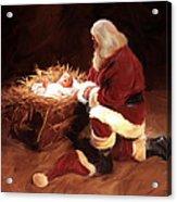 First Christmas Acrylic Print